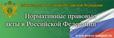 Нормативные правовые акты в РФ